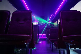Partybus Interier